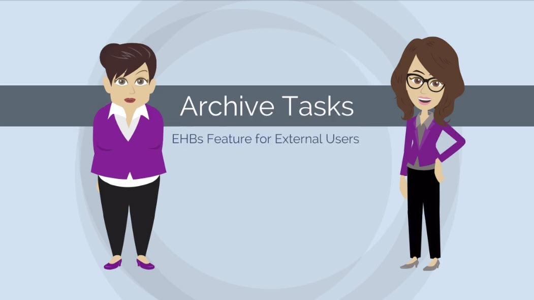 Thumbnail to Archive Tasks video page