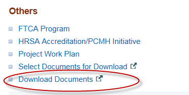 Download Documents link circled in Others section